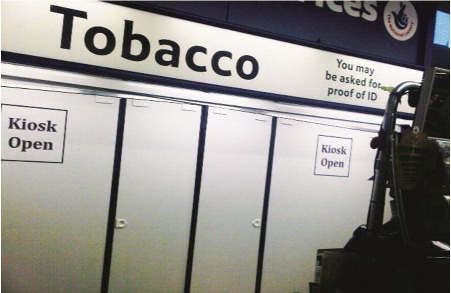 Tobacco displays