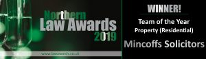 Northern Law Awards winner logo Residential Property team of the Year
