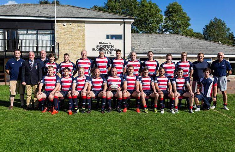 Mincoffs sponsor Morpeth Rugby 1st XV Team