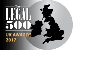 Mincoffs shortlisted in Legal 500 2017 Awards