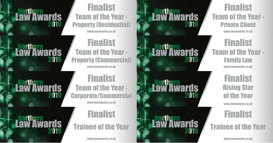 Mincoffs Shortlisted for 8 Categories in 2019 Northern Law Awards