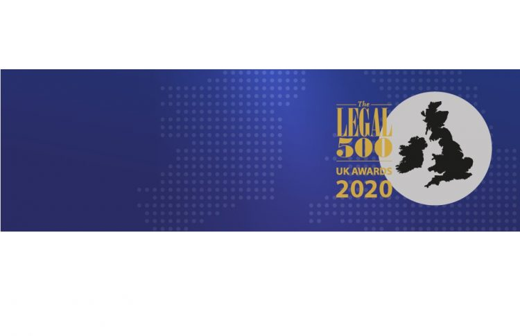 Legal 500 UK Awards 2020 Banner, Mincoffs Solicitors