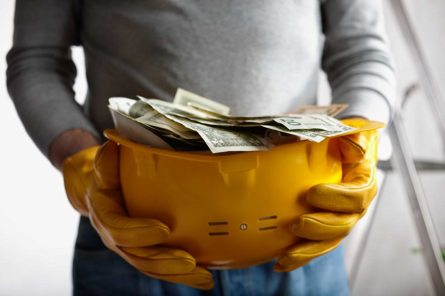 Cash retention in the construction industry
