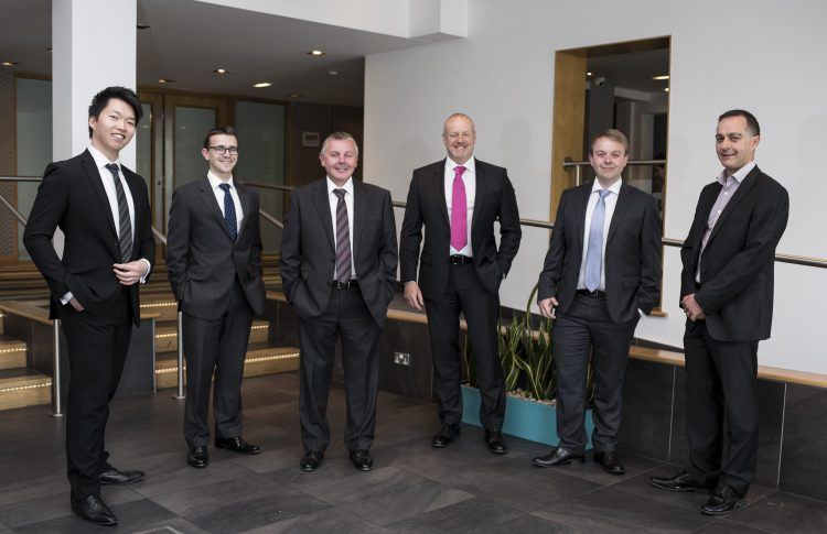 The corporate team at MIncoffs Solicitors