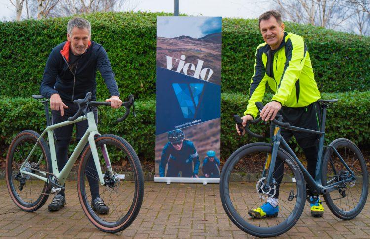 Investor Ian Watson and Vielo Sports' Ian Hughes