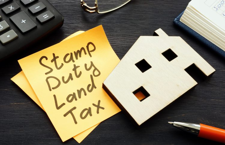 Stamp Duty Extension - Memo and image of a house