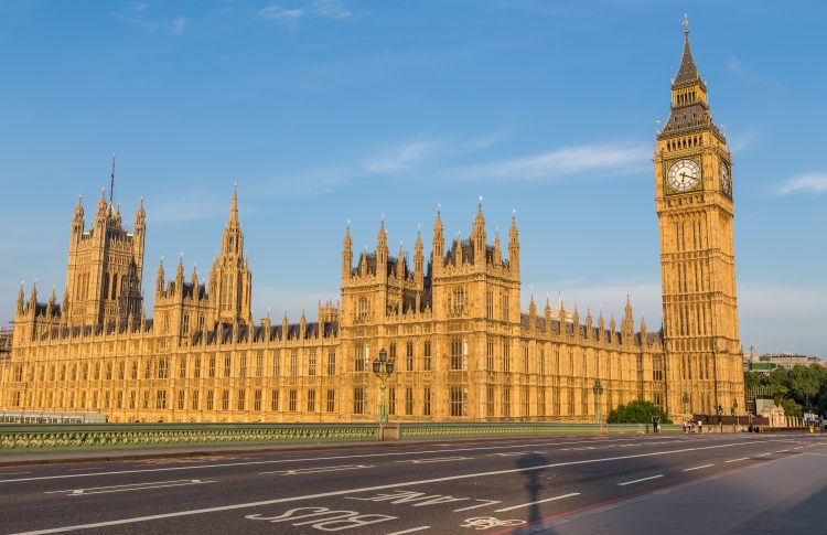 Spring Budget Announcement 2021 - Houses of Parliament and Big Ben